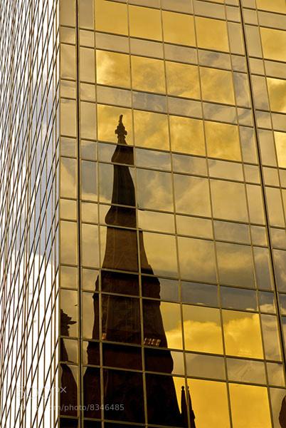 Photograph Reflected Glory: Towering Chapel by Sanjay Nanda on 500px