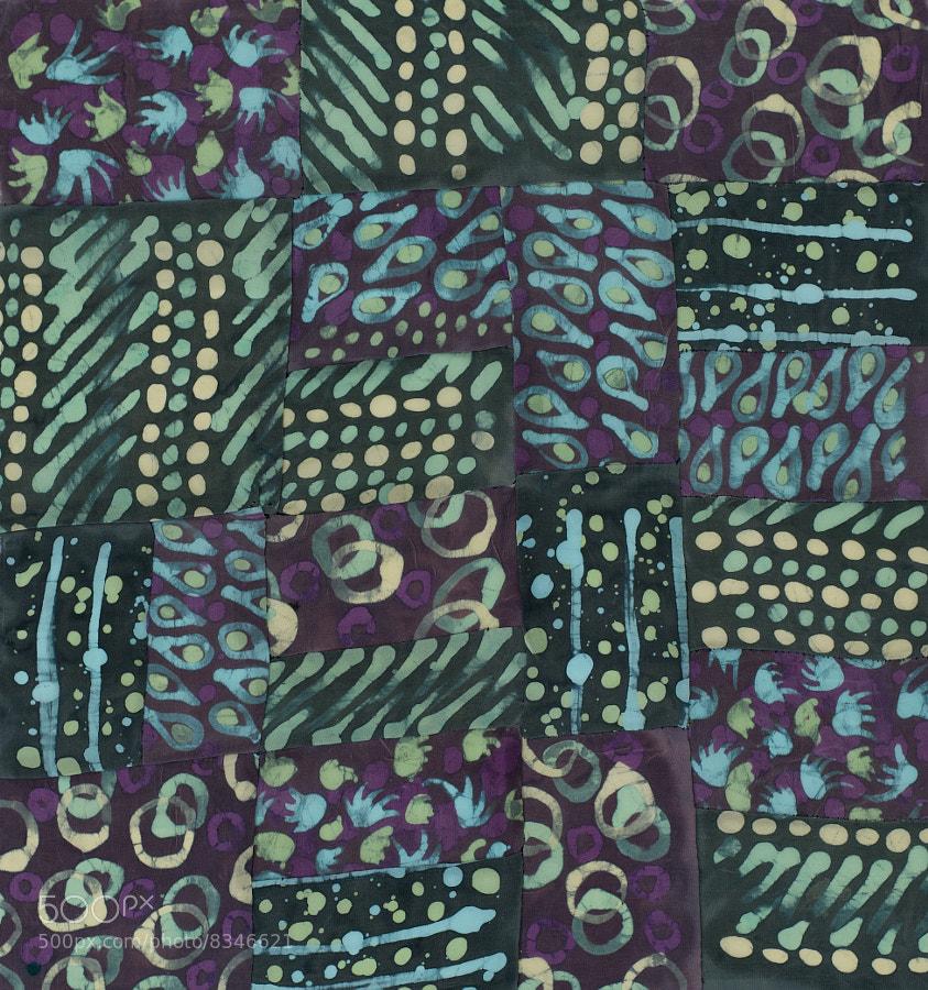 Wax & Dyes on Silk