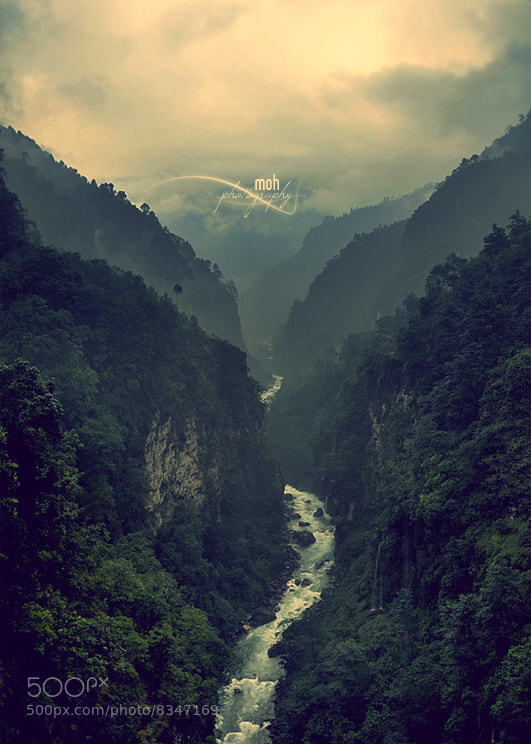 Photograph Enchanting Bhotekoshi by Mohan Duwal on 500px