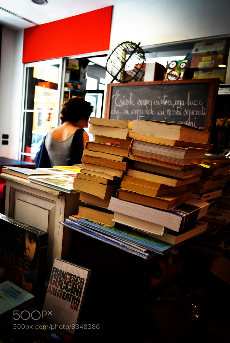 Photograph I love Books by Alessandro Pozzi on 500px