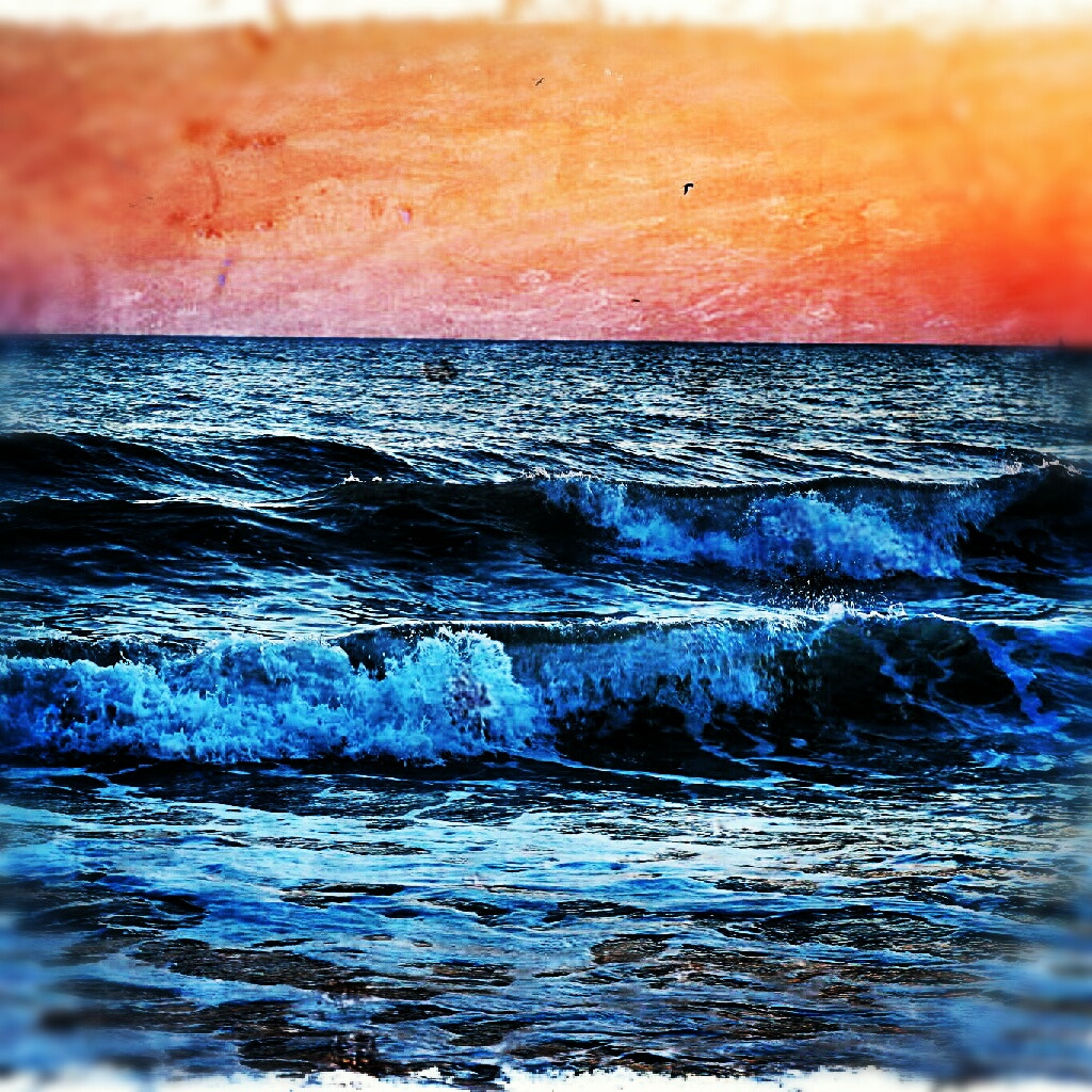 Photograph impresionist waves by Fran  Andrades on 500px