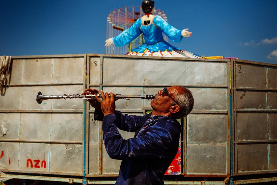 Musician at Pavli