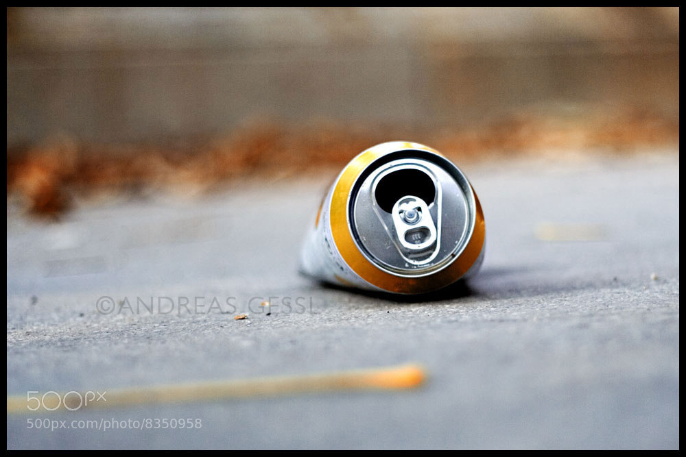 Photograph beer can by Andreas Gessl on 500px