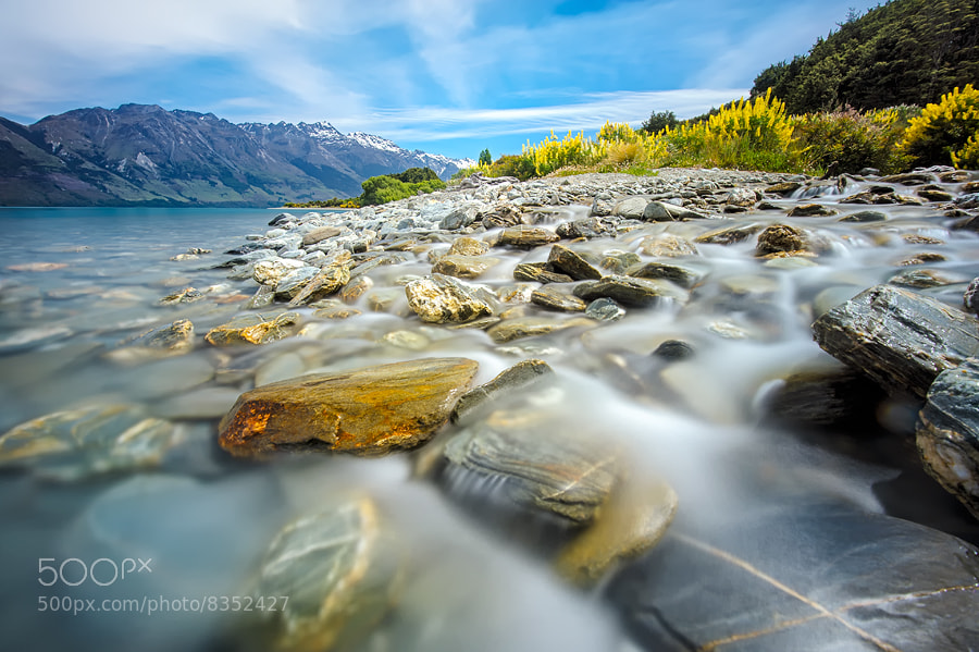 Photograph Jubilant Flow of Wakatipu by AtomicZen : ) on 500px