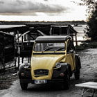 Постер, плакат: Old Citroen edited