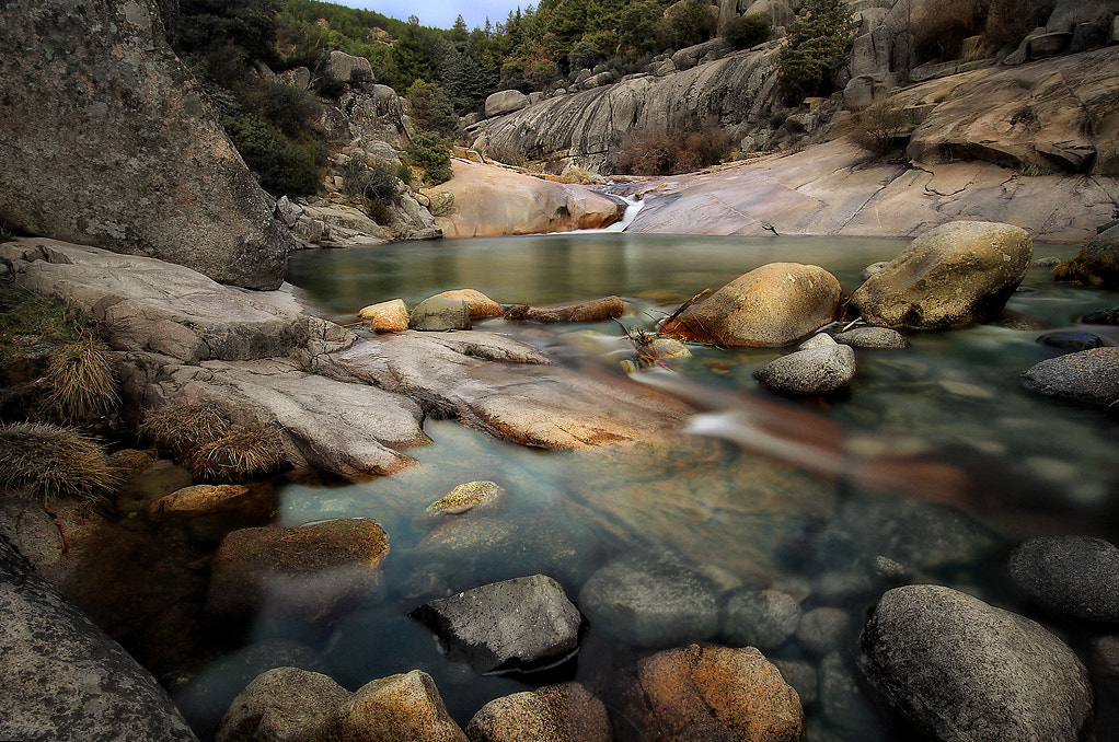 Photograph Water and rocks by Amador  on 500px