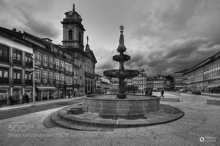 Photograph Praça do Toural by Joaquim Leite on 500px