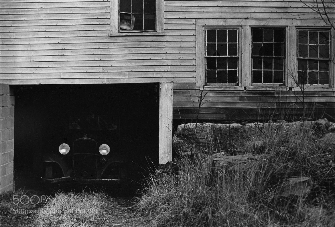 Photograph Car in New Hampshire Barn by Howard Shaffer on 500px