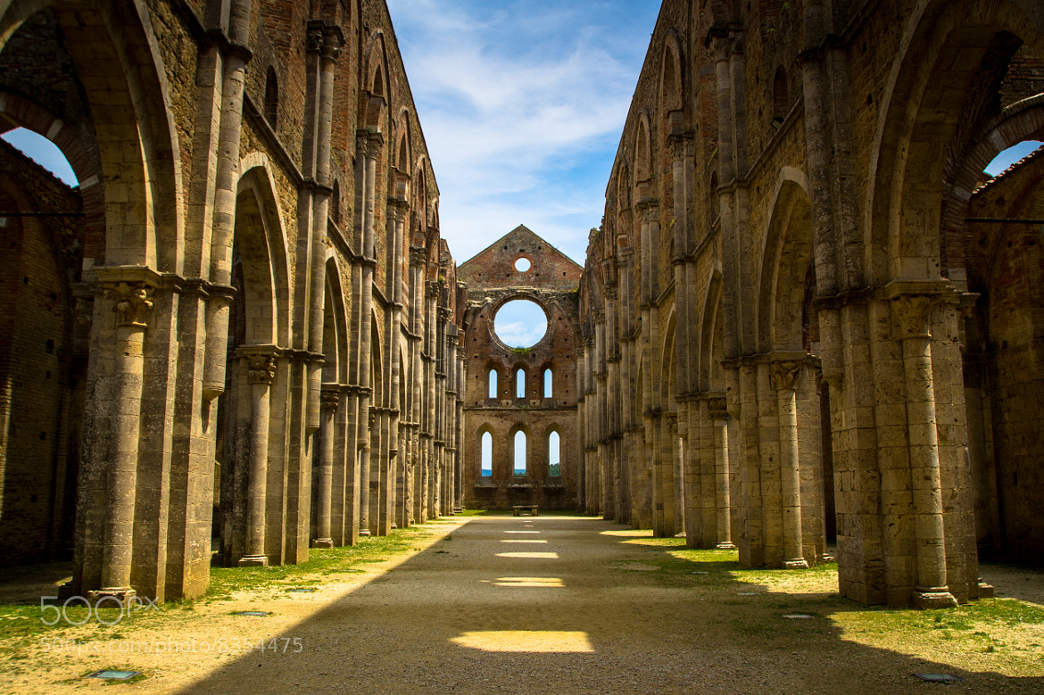 Photograph San Galgano by Thomas Högg on 500px