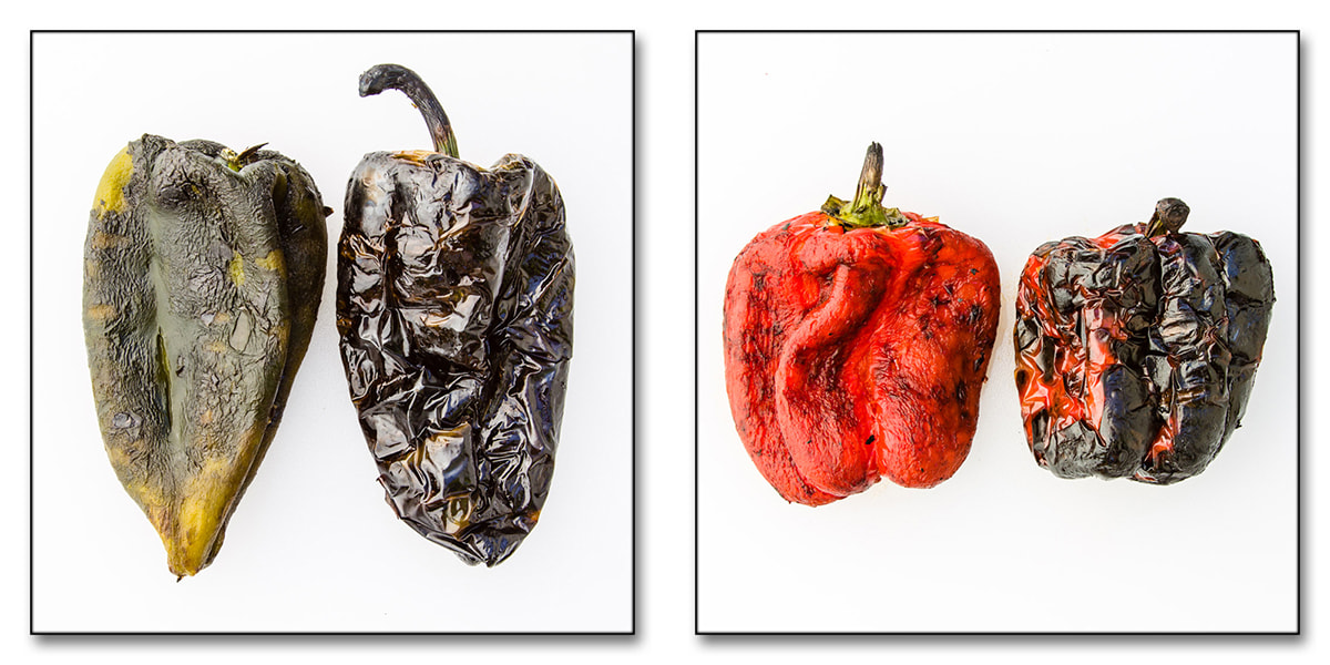 Photograph roasted peppers by melhillphoto on 500px