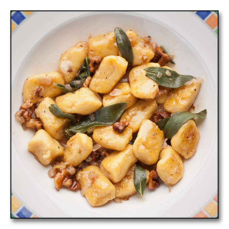 Photograph gnocchi with sage and walnuts by melhillphoto on 500px