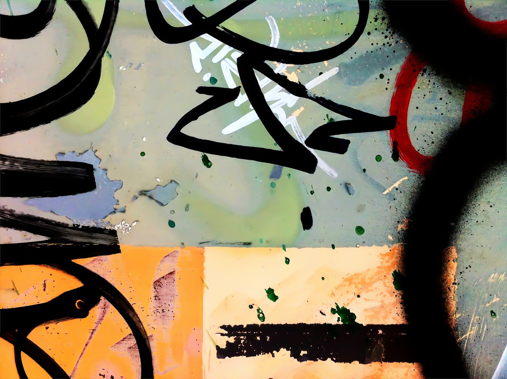 Photograph Graffiti abstraction by Erik Beck on 500px