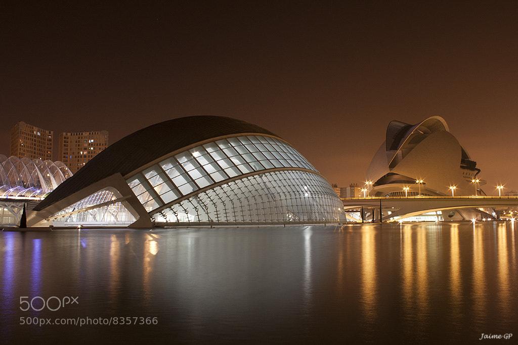 Photograph Valencia's Night by Jaime GP on 500px