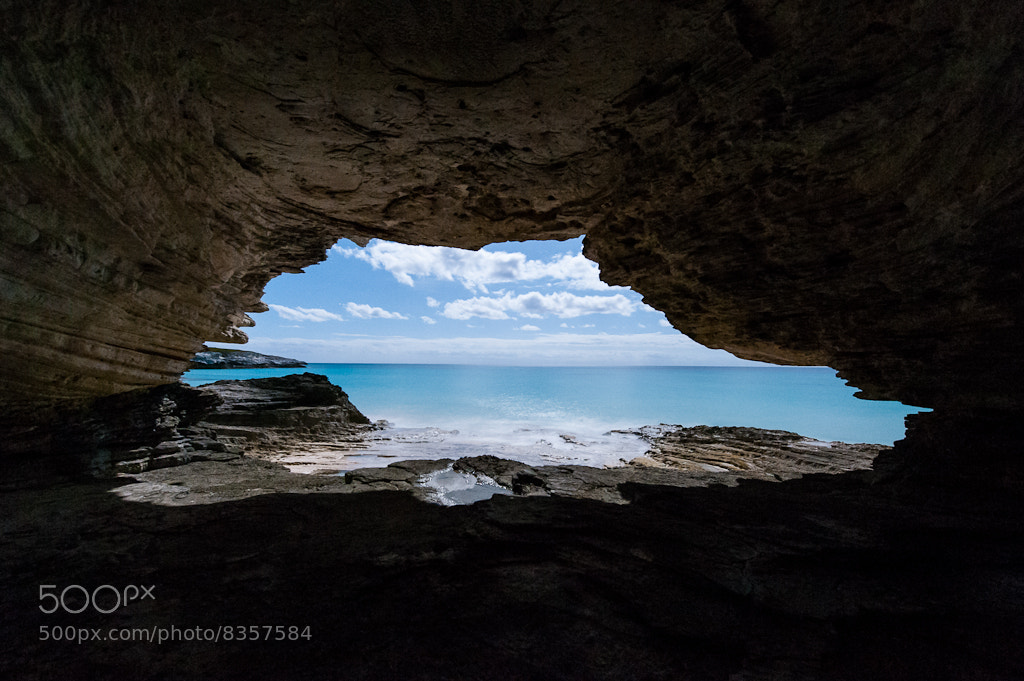 Photograph Night from Lighthouse Beach Cave by Jon Beard on 500px