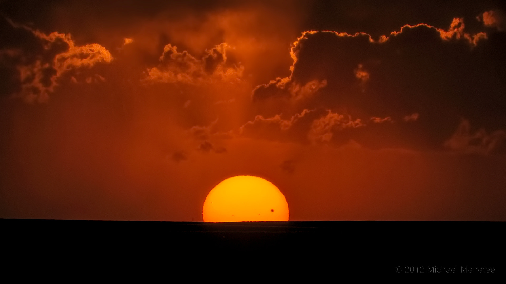 Photograph The Sun Sets on the 2012 Transit of Venus by Michael Menefee on 500px