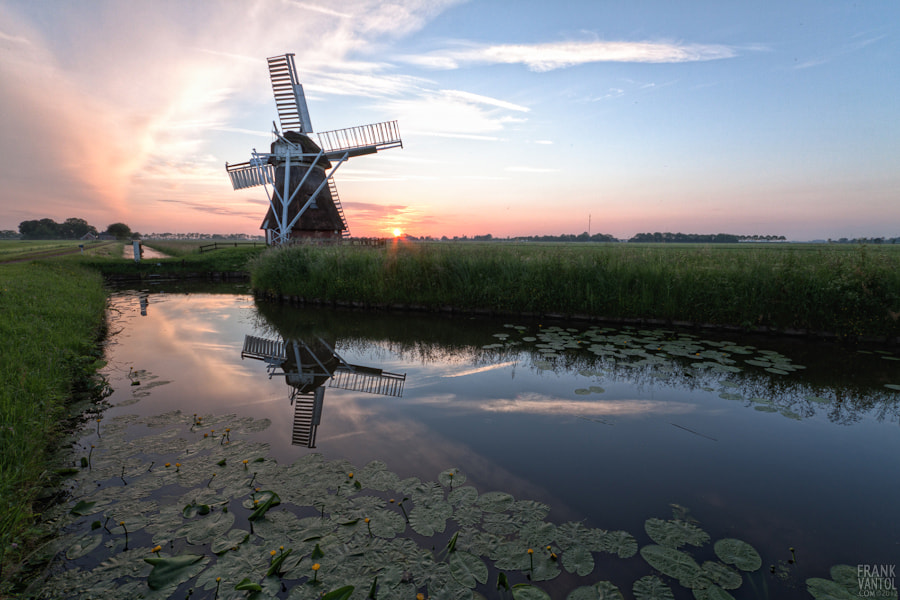 Photograph 't Witte Lam at Sunset by Frank van Tol on 500px