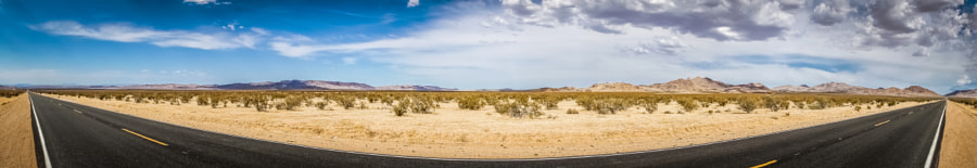 Route 66 panorama