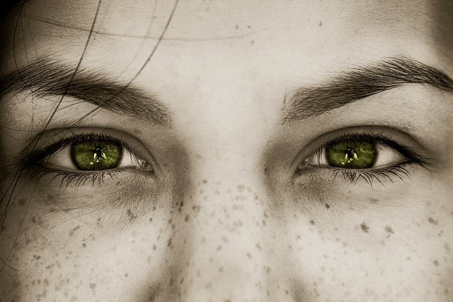 Photograph Those green eyes by Yaroslav Miroshnik on 500px