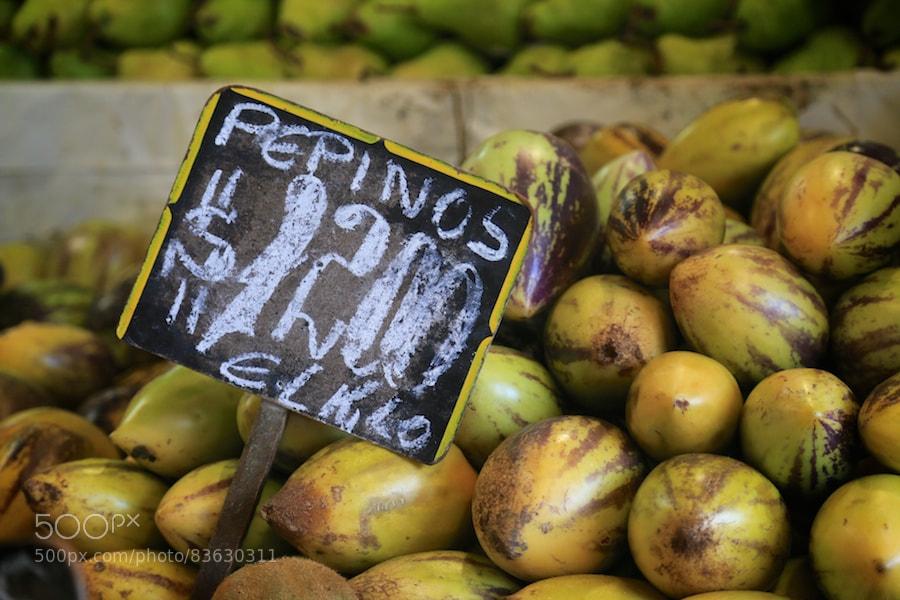 Photograph Pepinos by Karel Mundnich on 500px