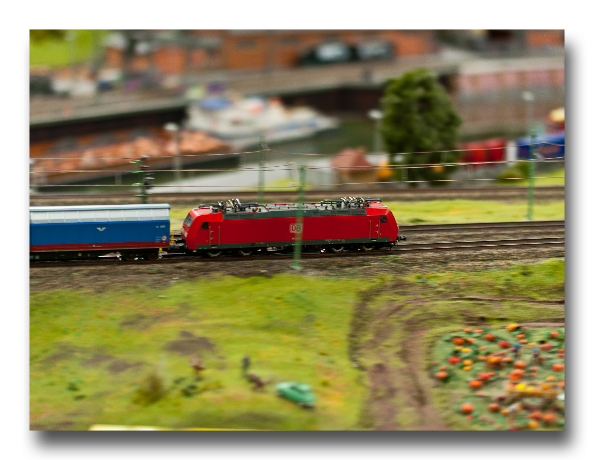 Photograph Güterzug im Miniaturwunderland by Timo Tewes on 500px
