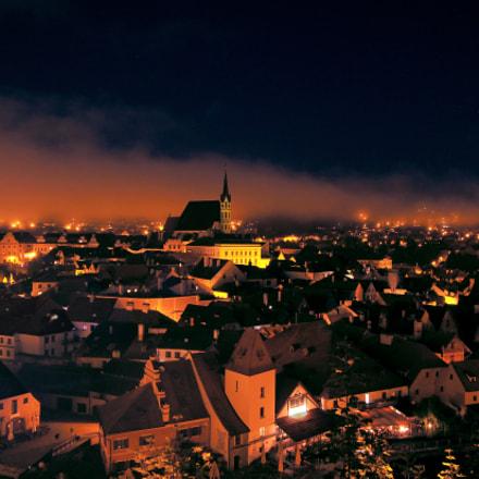 Cesky Krumlov Night
