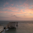 Постер, плакат: Old Harry Rocks Sunrise