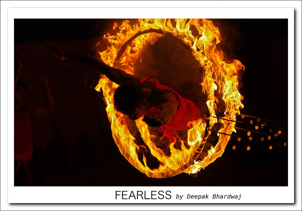 Photograph Fearless act by Deepak Bhardwaj on 500px