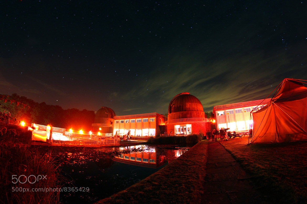 Photograph Observatory at Night by Charlie Davis on 500px