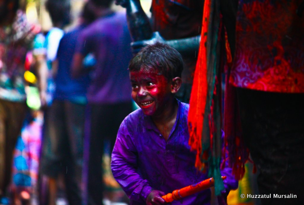 Photograph The Festival of color by Huzzatul  Mursalin on 500px