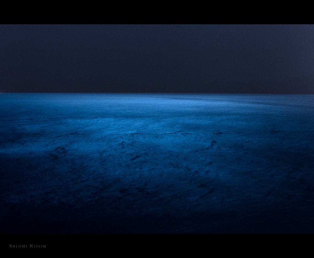 Photograph SEA-when the moon is the only light you'll see by shlomi nissim on 500px