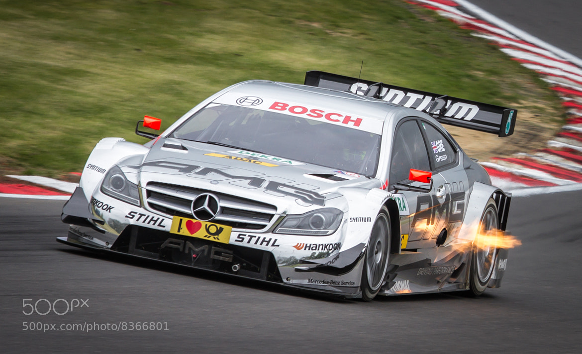 Photograph Flamin Mercedes by Andrew Wickens on 500px