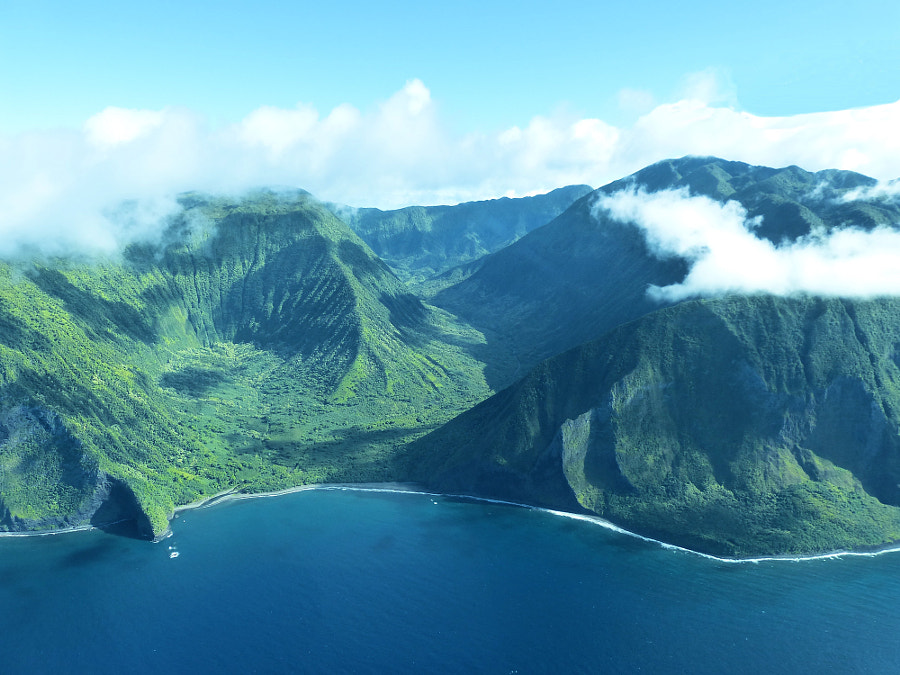 Photograph Molokai Valleys, Alden Cornell Molokai Hawaii by Alden Cornell on 500px