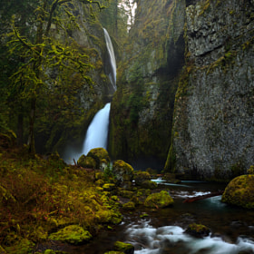 Wahclella Falls by Helminadia Ranford (Helminadia_Ranford)) on 500px.com