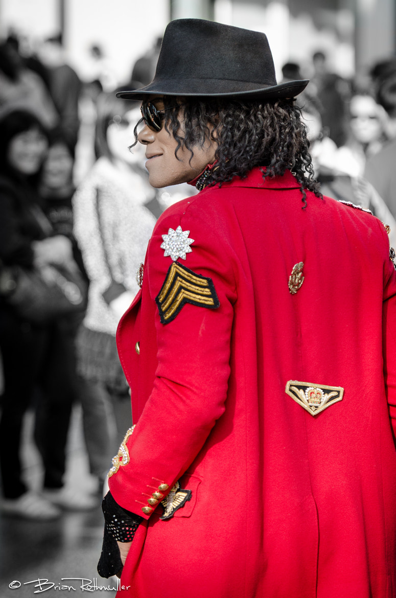 Photograph Michael Jackson Impersonator by Brian Rothmuller on 500px