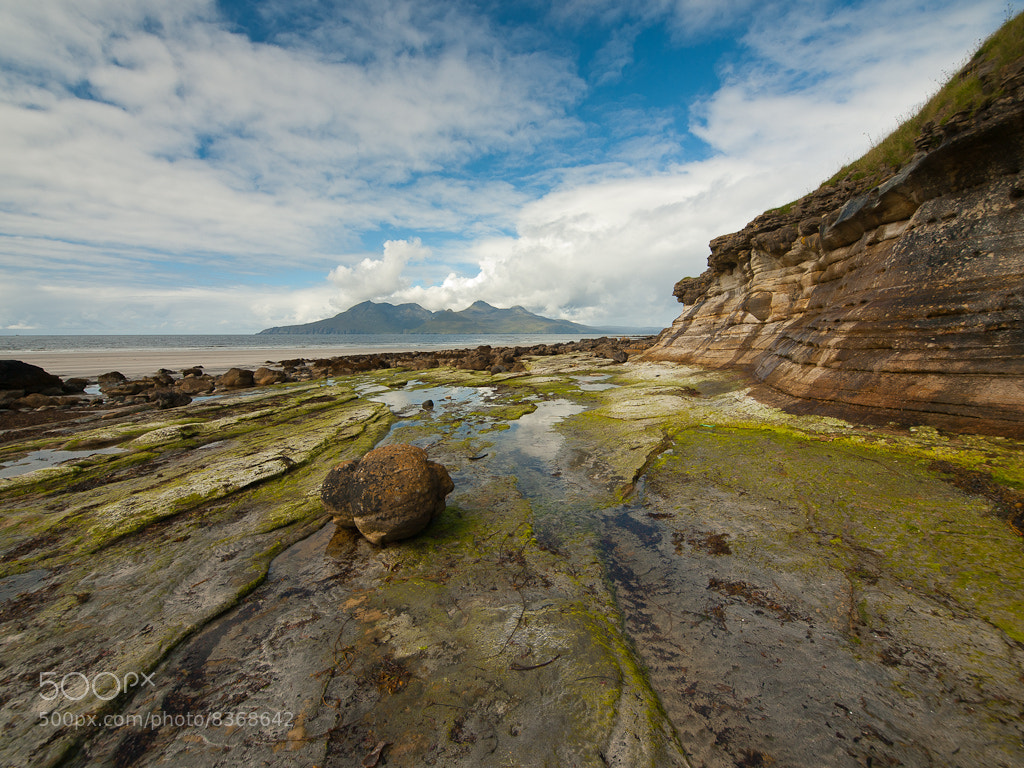 Photograph Rhum from Laig Bay by Keith Muir on 500px