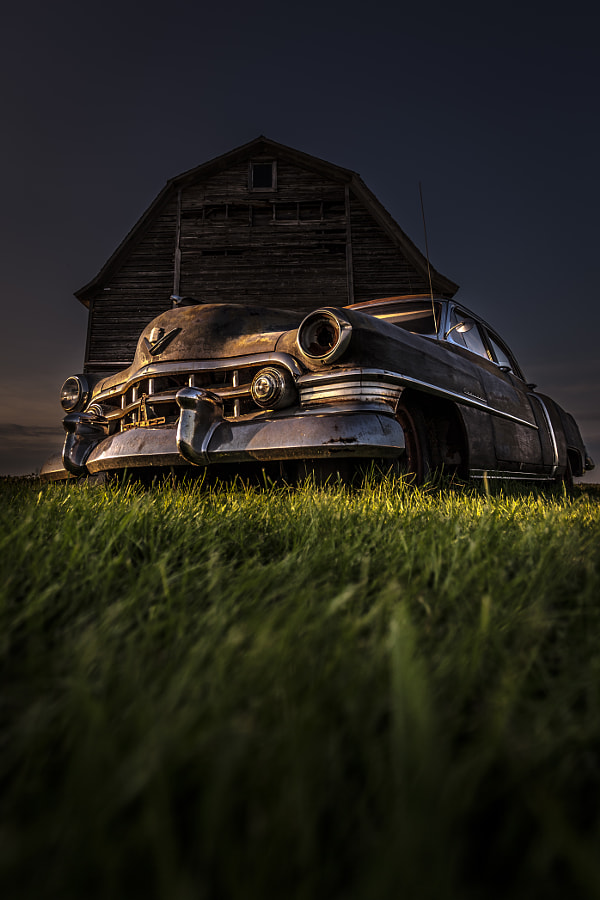 Photograph Old Caddy by Arkadiusz Ziomek on 500px