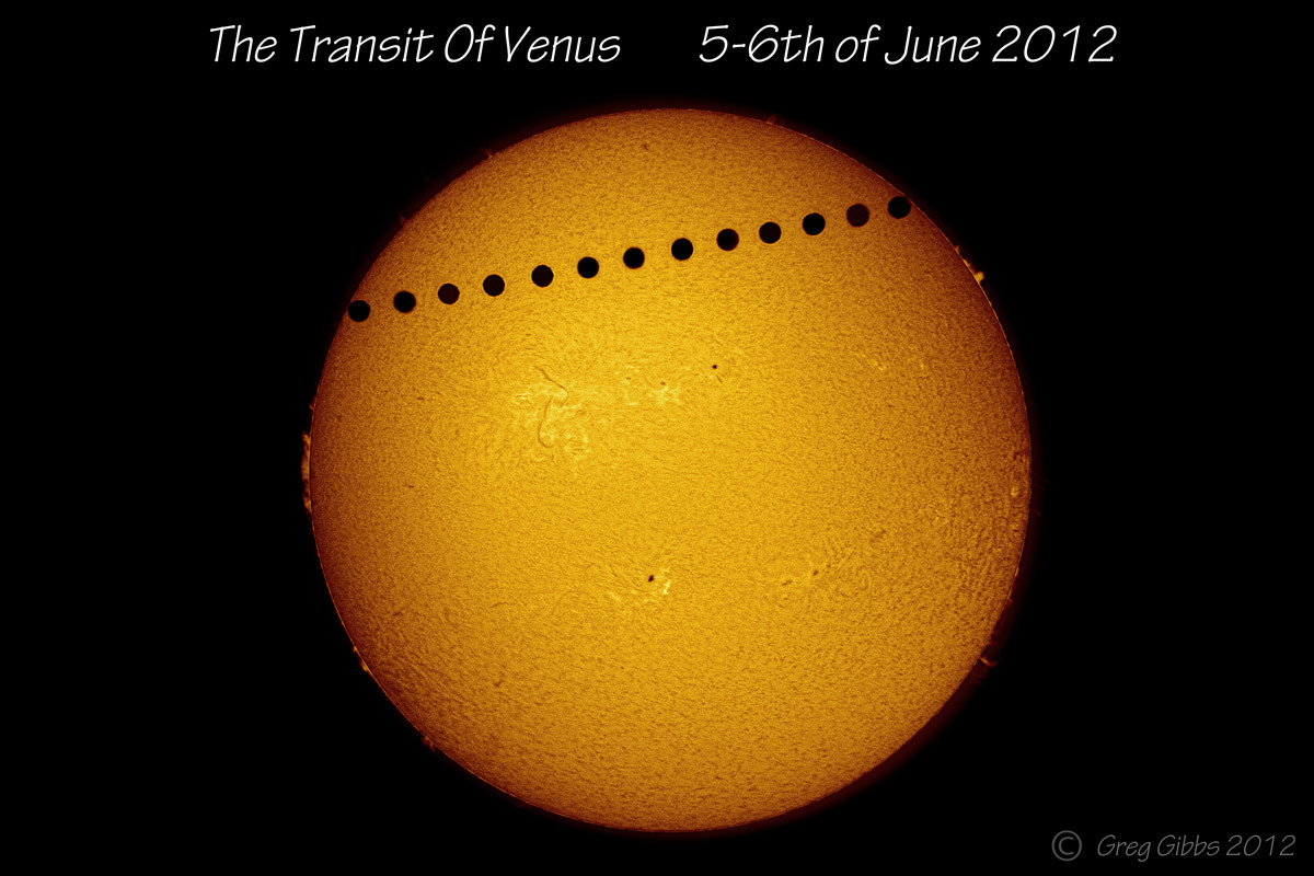 Photograph The Transit Of Venus by Greg Gibbs on 500px