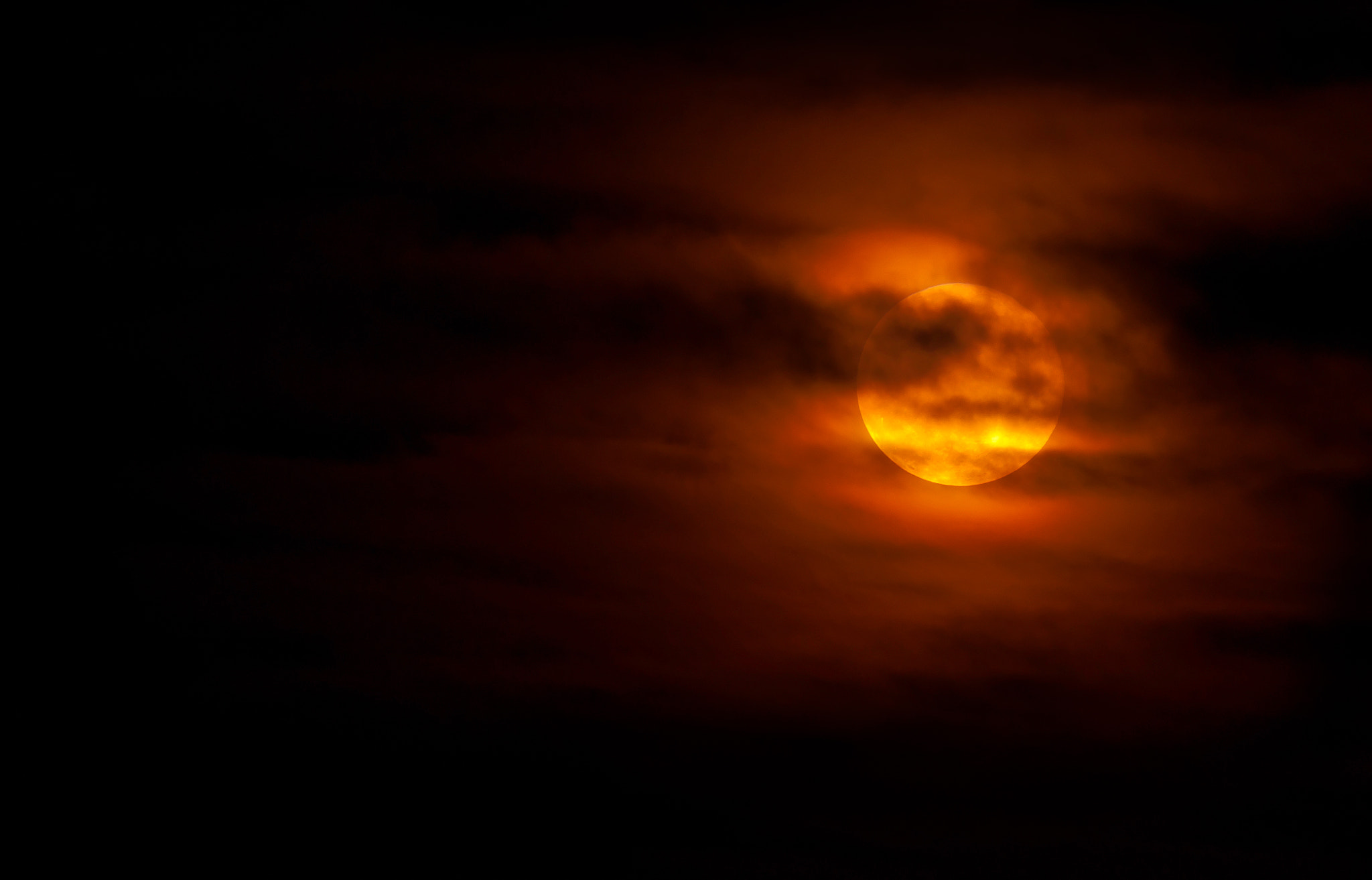 Photograph Moon on Fire by Jeff Graham on 500px