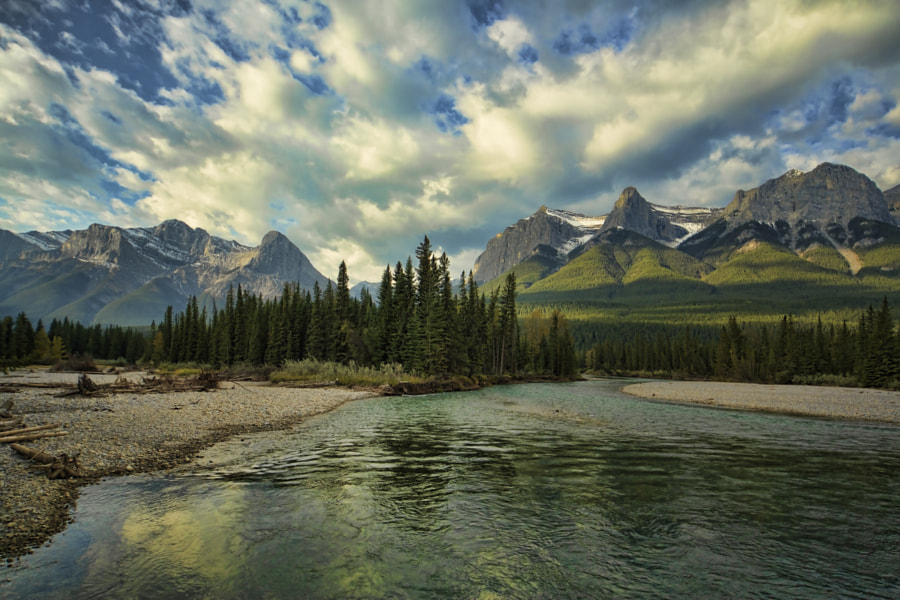Bow River into the Gap