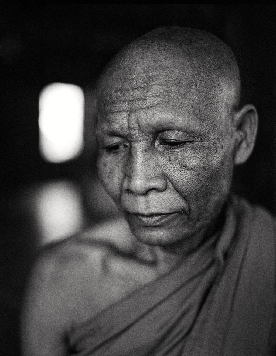 Photograph Cambodian Monk by Roy Zipstein on 500px