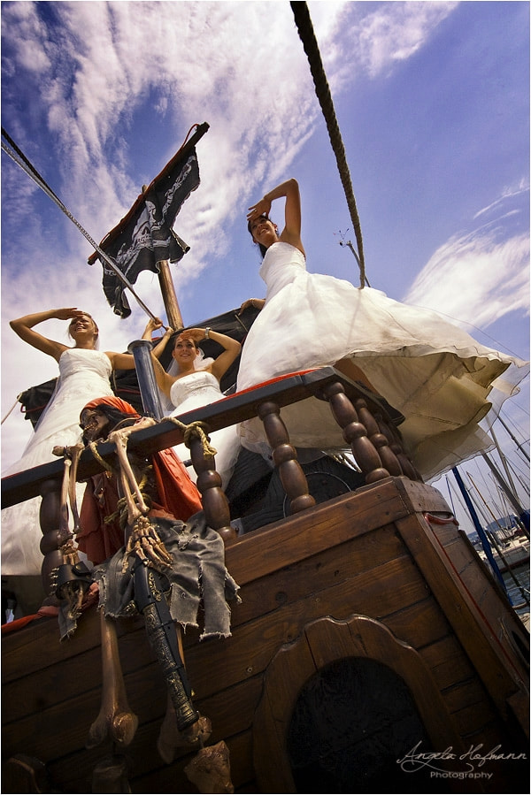 Photograph pirate brides by Angela Hofmann on 500px