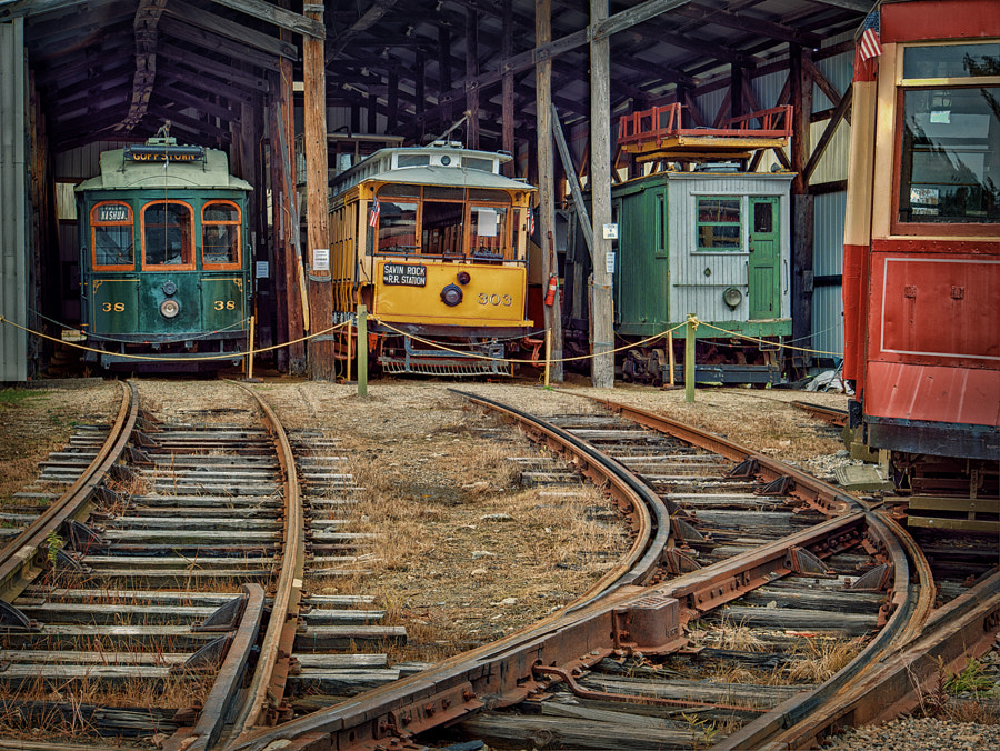 Taken at the Seaside Trolley Museum in Kennebunkport, Maine.