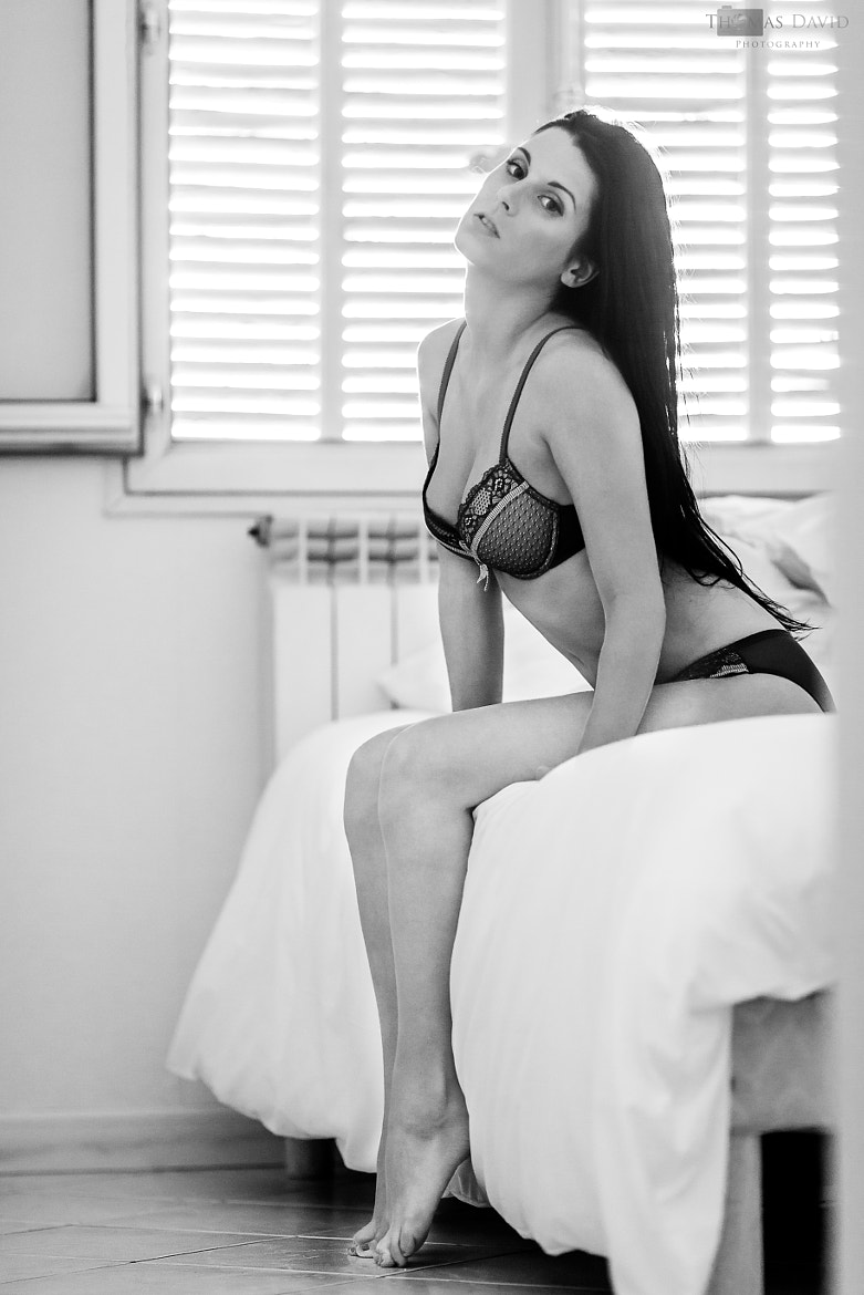 Photograph Black and white lingerie by Thomas David on 500px