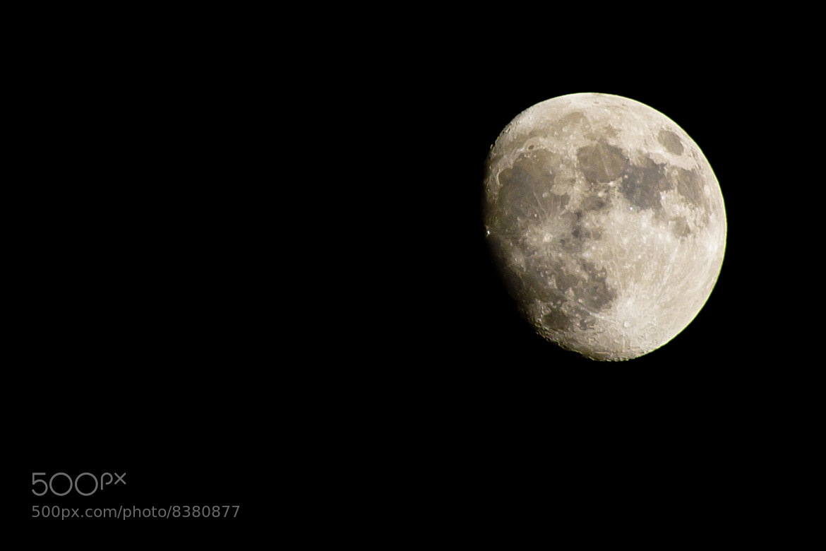 Photograph Moon by Sam Cole on 500px