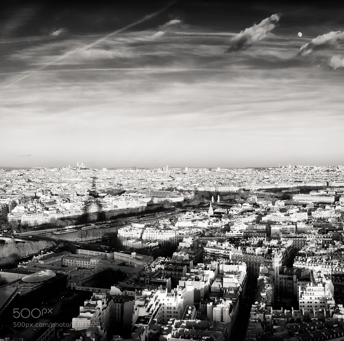 Photograph Shadow of The Eiffel Tower by David Williams on 500px
