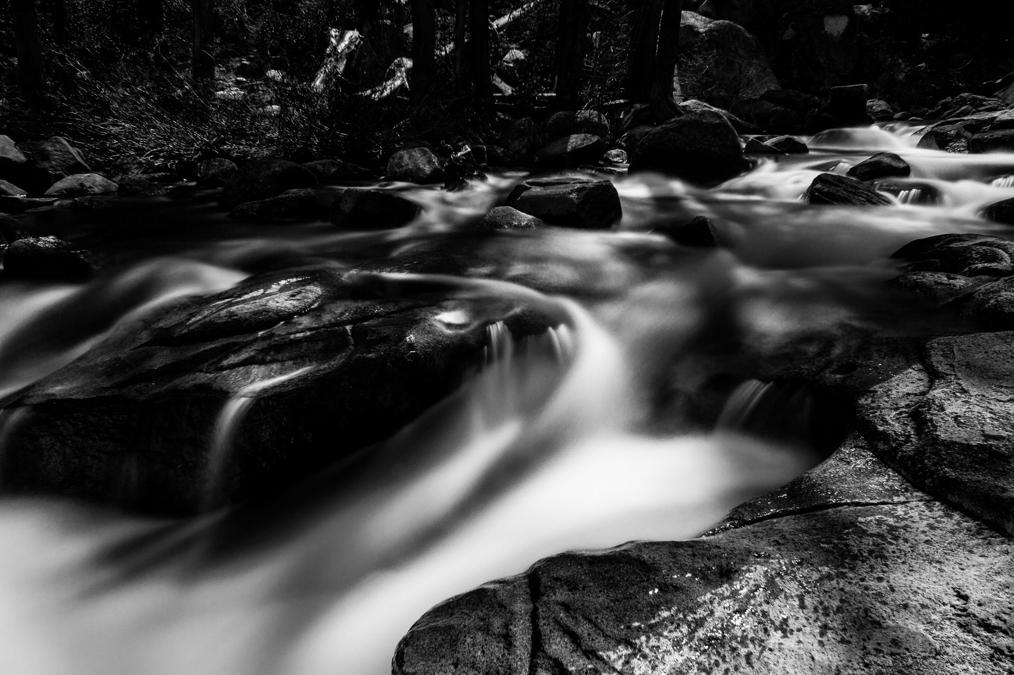 Photograph Over Wet Rocks by Aaron Barlow on 500px
