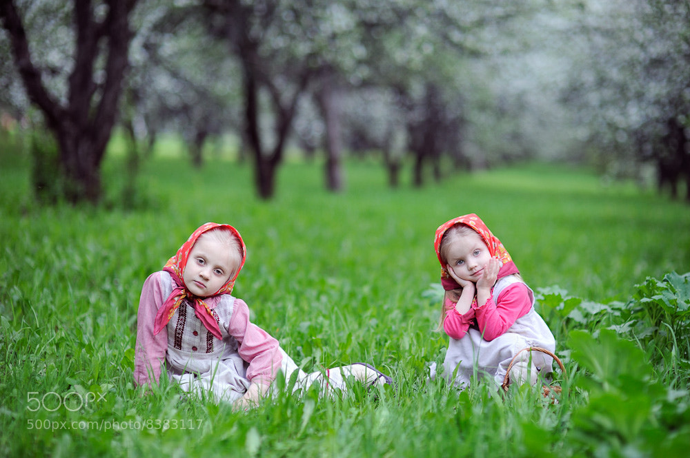 Photograph Olya&Serafima by Evgeniya Semenova on 500px