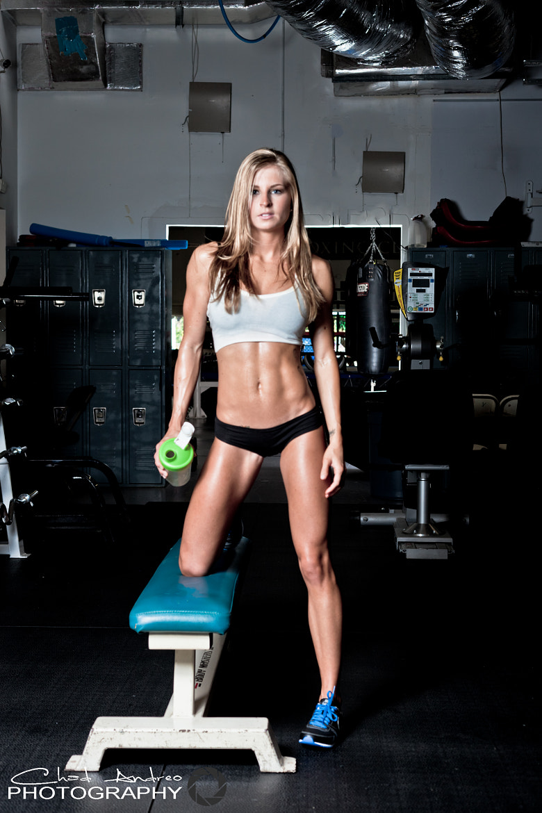 Photograph Brittany Tacy - Pro Fitness Model by Chad Andreo on 500px