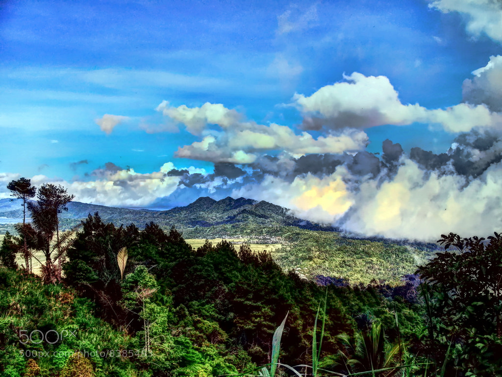 Photograph View from Kawatak Mountain, Langowan North Celebes, Indonesia by Bonny Tumbelaka on 500px