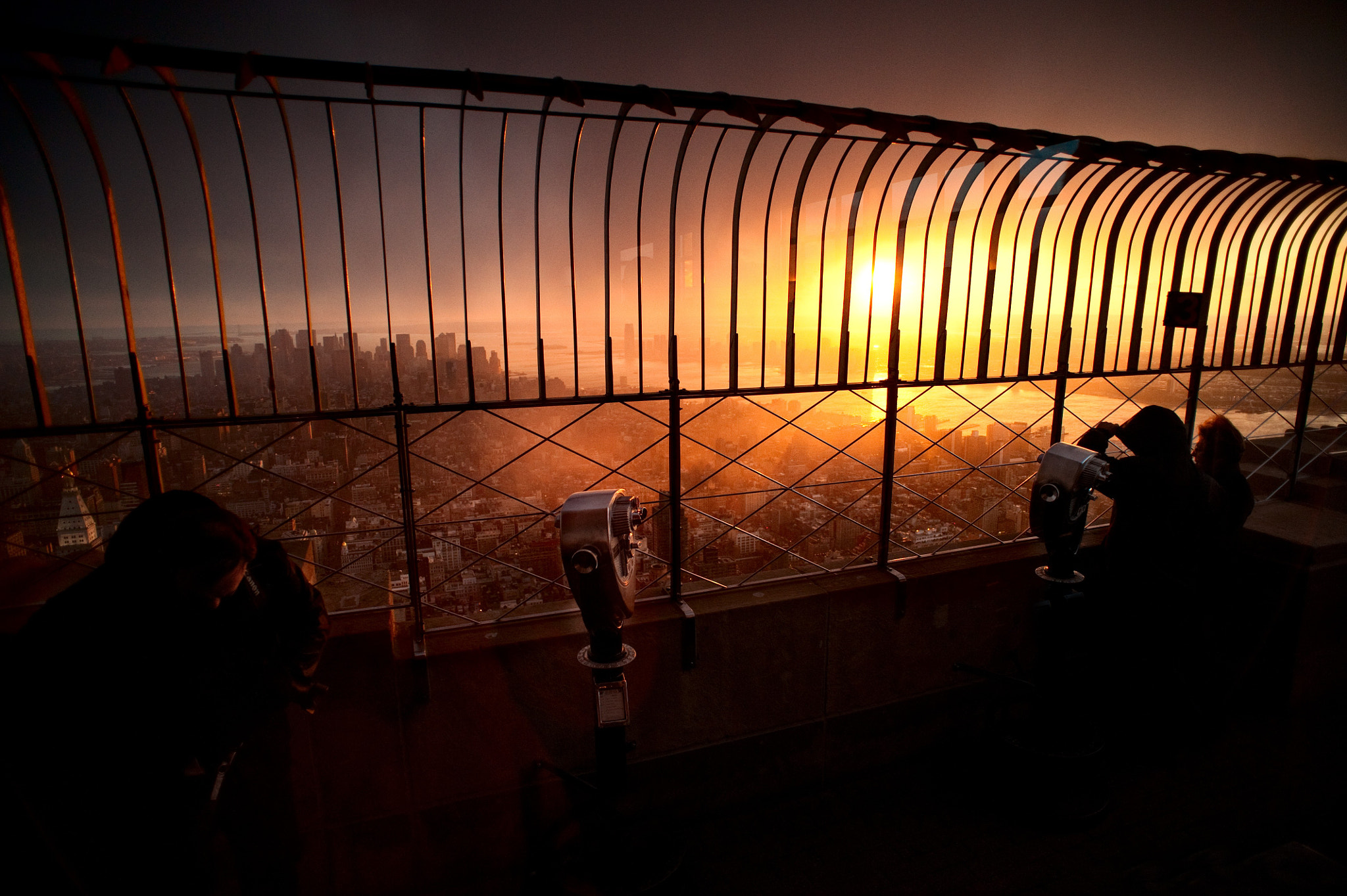Photograph The Empire State Building at sunset by NabeelsCamera  on 500px